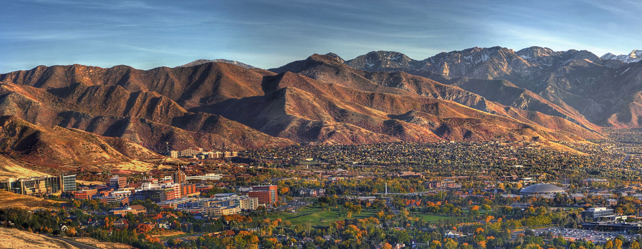 University of Utah campus in fall